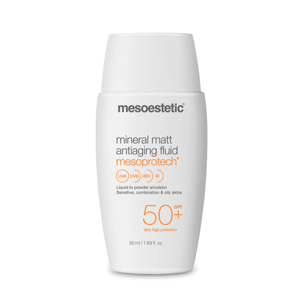 MINERAL MATT ANTIAGING FLUID 50+ | MESOPROTECH
